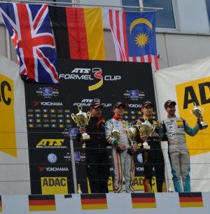 Sam MacLeod scores another double podium at Nurburgring