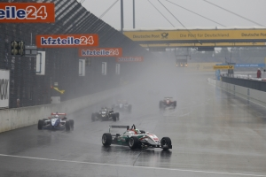 Sam MacLeod secures another podium at rain soaked Lausitzring